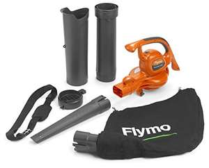 Flymo PowerVac 3000 3-in-1 Electric Garden Blower Vac, 3000 W Used - Acceptable £30.09 @ amazon warehouse
