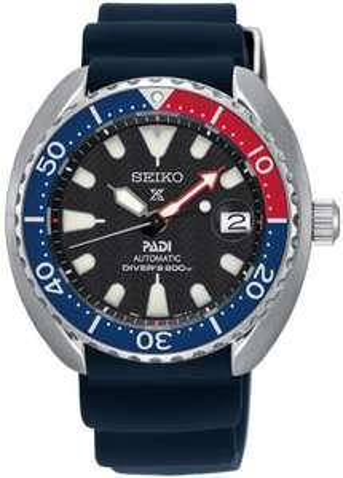 Seiko Watch Prospex Turtle PADI Automatic Diver SRPC41K1 £299 at C.W. Sellors