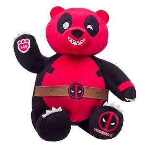 Marvel Deadpool Online Exclusive Pandapool Build A Bear Now £22.50 Delivery is £3.99 @ Build A Bear