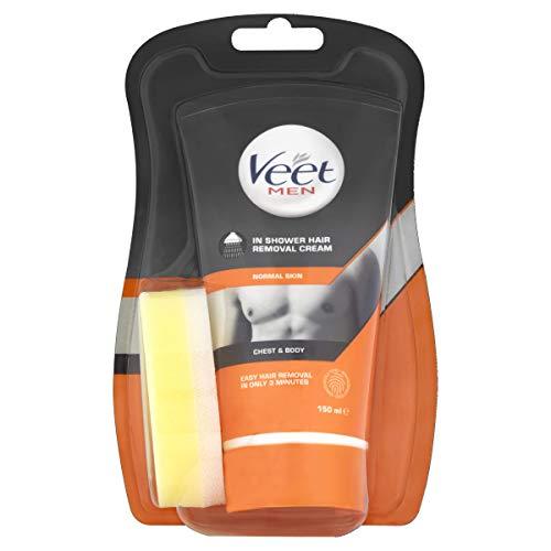 Veet Men In Shower Hair Removal Cream 150ml £4.99 prime / £9.48 nonprime at Amazon