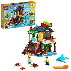 LEGO Creator 31118 3 in 1 Surfer Beach House, Lighthouse and Pool House Summer Building Set - £34.97 delivered @ Amazon