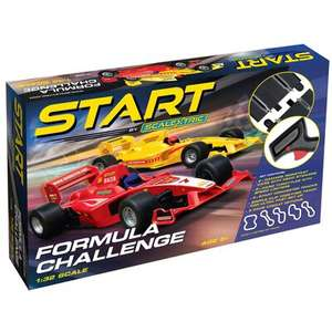 Scalextric Start Formula Challenge C1408 for £35 delivered @ The Works