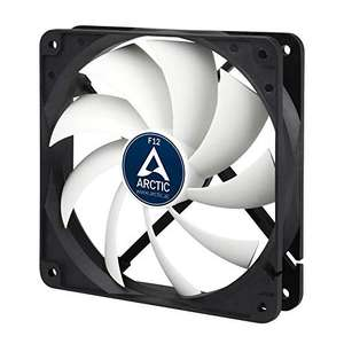 ARCTIC F12 - 120 mm Standard Case Fan Push- or Pull Configuration, Fan Speed: 1350 RPM - £4.40 Prime (+£4.49 NP) @ Amazon