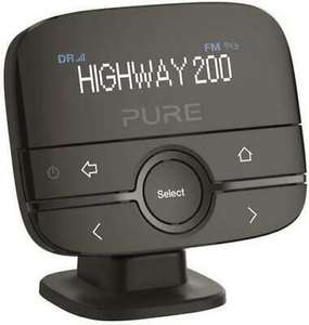 Pure Highway 200 In-Car DAB+/DAB Digital Radio FM Adapter/Transmitter with AUX £26.34 at tabretail/ebay