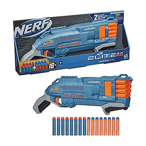 Nerf Elite 2.0 Warden DB-8 Blaster £15 (Prime) + £4.49 (non Prime) at Amazon