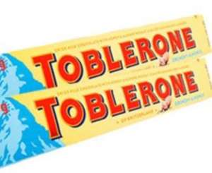 Toblerone Almond 100g Bars are 2 for £1 @ Farmfoods