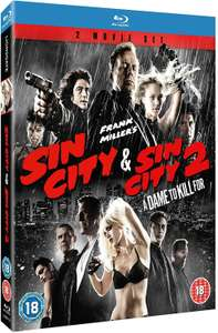 Sin City/Sin City 2 - A Dame to Kill For [Blu-ray] £6.30 with code @ Zoom