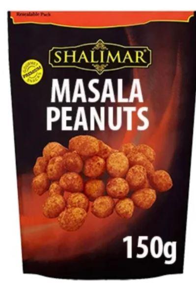 150g Shalimar Masala Peanuts 79p @ Farmfoods