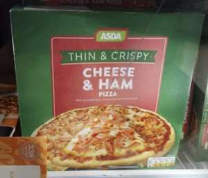 Cheese and ham frozen pizza 314g - 65p Instore @ Asda (Queensferry)