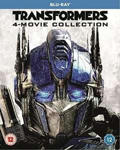 [Blu-Ray] Transformers - 4 Movie Collection (1 - 4) - £4.15 delivered @ Rarewaves