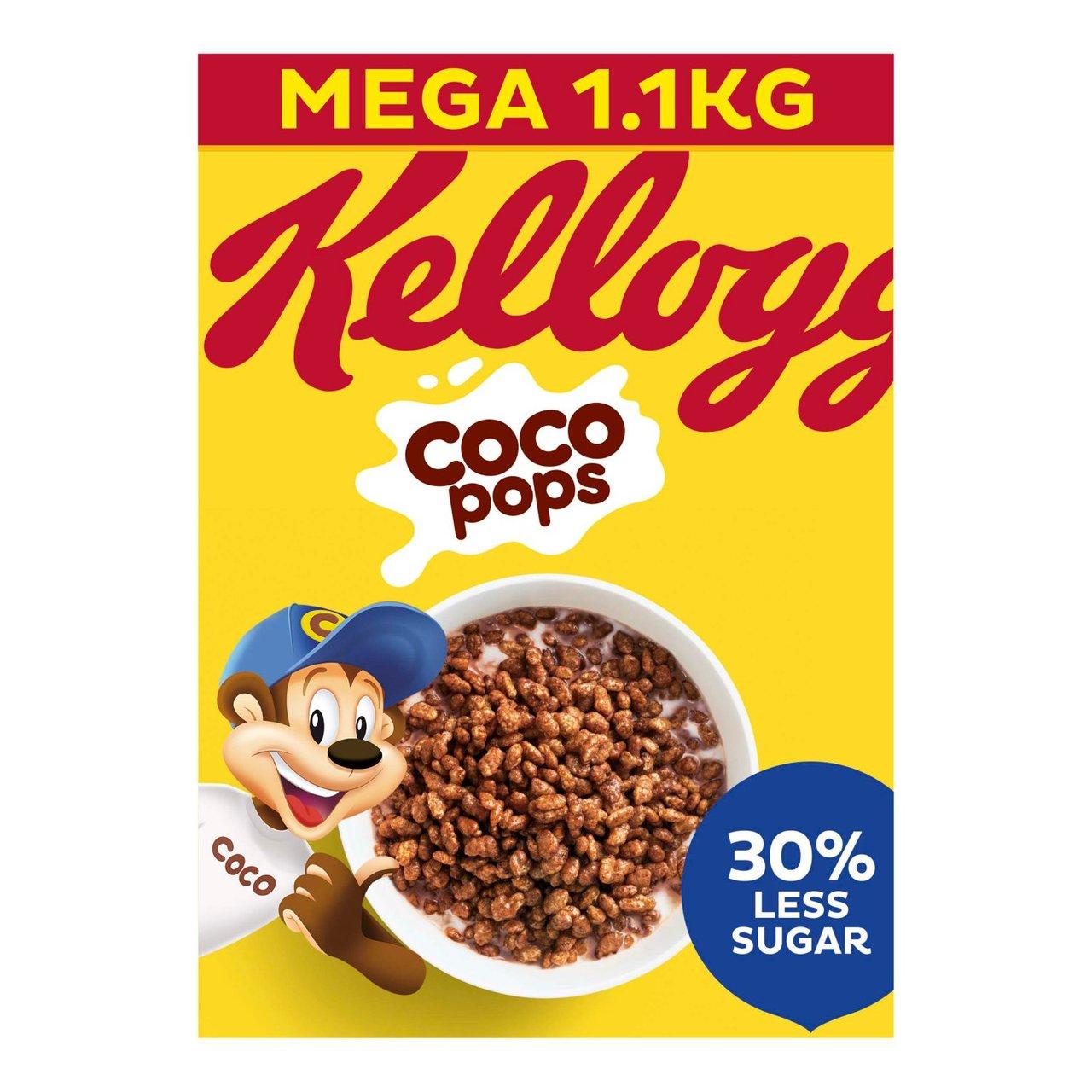 Kelloggs Coco Pops - Mega Pack 1.1kg £2.00 @ Asda Washington