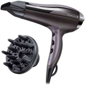 Remington Pro Air Turbo Hair Dryer 2400W with Diffuser and concentrator - £19.99 / £23.94 Delivered @ Argos. Manufacturer's 3 year guarantee