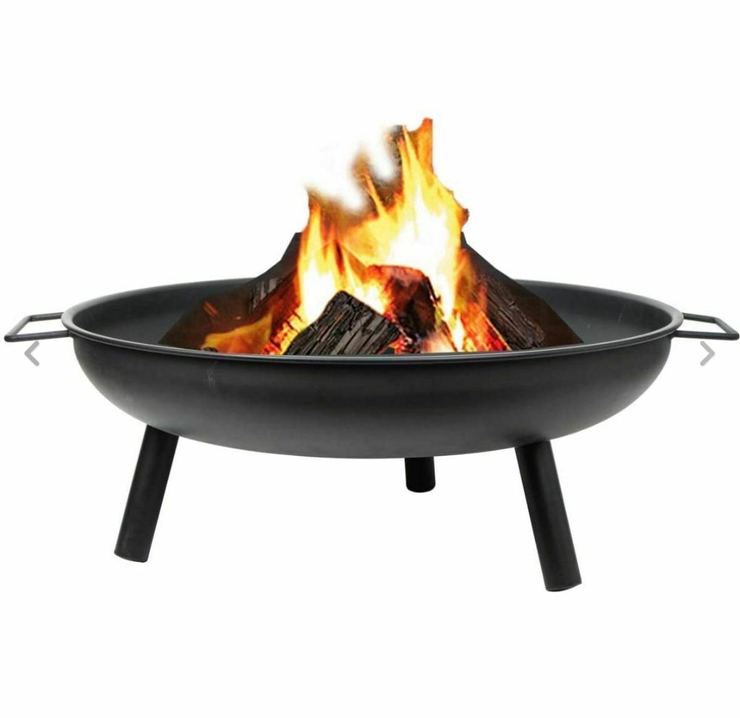 LIVIVO Round Fire Pit Now £32.95 Free delivery @ SashTime Ebay