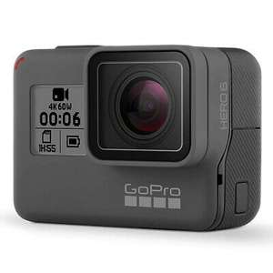 Refurbished GoPro HERO6 Black Action Camera + 2 Battery Bundle 4K HD (1 year warranty), £159.99 at ebay / gopro_certified_uk