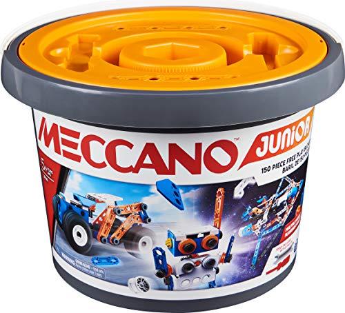 Meccano Junior 150-Piece Bucket STEAM Model Building Kit £21.99 delivered at Amazon