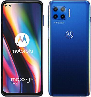 "New Motorola Moto G 5G Surfing Blue 6.7"" 64GB Dual SIM Android 10 Unlocked Sim Free £212.49 @ eBay technolec_uk"