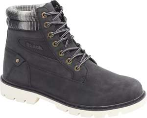 Mens Bench Black Lace-up Boots now £35.99 delivered, using code, @ Deichmann