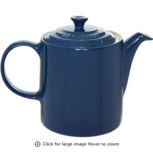 Le Creuset Navy Stoneware Grand Teapot 17x24cm £14.99 + £3.99 delivery at TKMaxx
