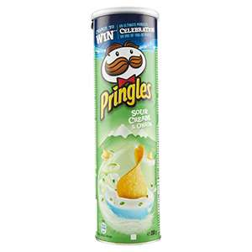 Pringles 200g (Salt & Vinegar / BBQ / Sour Cream & Onion) - £1.25 (+ £4.49 Non Prime) @ Amazon