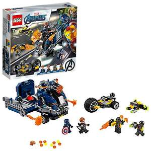 LEGO Avengers Super Heroes Marvel 76143 Truck Take-down Playset with Captain America £23, at Amazon