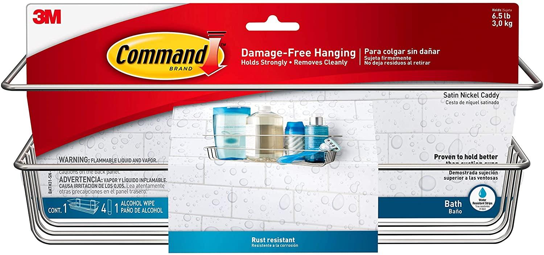 3M Command Shower Caddy £17.99 (+£4.49 Non Prime) @ Amazon