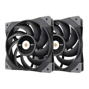 Thermaltake 120mm Toughfan 12 Performance PWM Case Fan 2-Pack £43.48 delivered at Scan