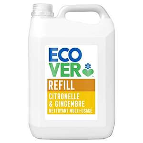 Ecover All Purpose Cleaner Lemongrass & Ginger Refill, 5L £8.49 / £7.64 S&S (Prime) + £4.49 (non Prime) at Amazon