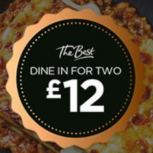 Dine in for Two £12 Meal Deal - 1 Main, 1 Side, 1 Dessert and 1 Drink (Min Basket / Delivery fee applies) @ Morrisons