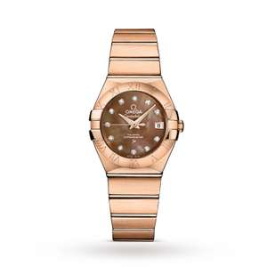 50% off 18k gold Omega Constellation Co Axial 27mm Ladies Watch - £7920 @ Goldsmiths