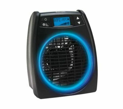 NEW - DIMPLEX DXGLO2 GloFan Portable Hot & Cool Fan Heater - Black DAMAGED BOX £28.04 ebay / currys_clearance