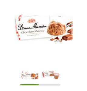 Bonne Maman chocolate mousse 2x70g & other desserts £1 (+ Delivery Charge / Minimum Spend Applies) at Asda