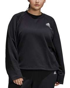 adidas Z.N.E. COLD.RDY Athletics Crew Sweatshirt in Berry, or Black £24.15 delivered using code @ Simply Be