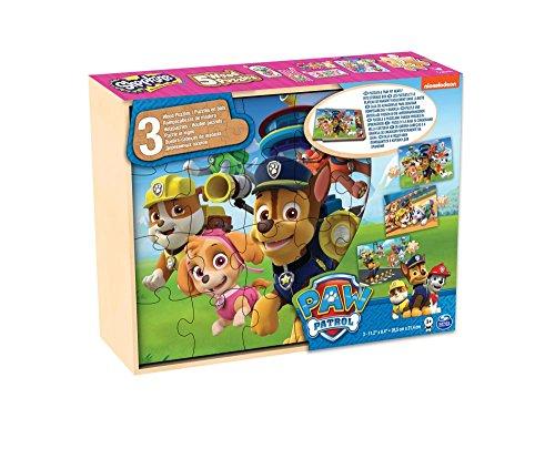 Paw Patrol – 3 Wooden Puzzles – The Pat Patrol £3.63 (+£4.49 non-prime) @ Amazon