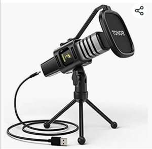 TONOR USB Microphone with stand £23.79 - sold by Micfonotech and Fulfilled by Amazon.