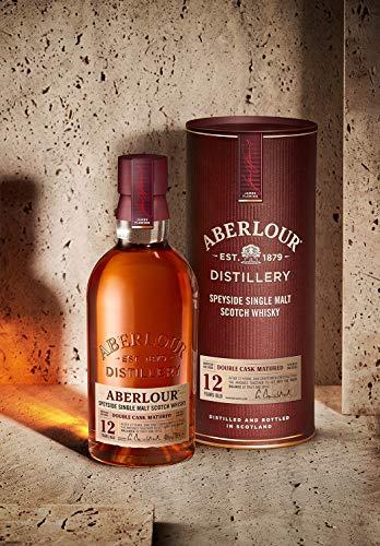 Aberlour 12 Year Old Single Malt Scotch Whisky, 70cl (Double oak cask) £28 @ Amazon