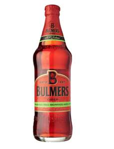 Various large bottled ciders reduced to £1 in B&M Found in Stone in Staffordshire. (e.g Bulmers crushed red berries & lime 500ml)