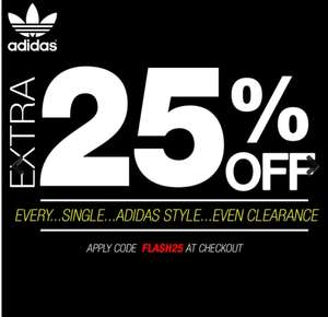 25% off all Adidas Trainers & Free Delivery with code @ Express Trainers