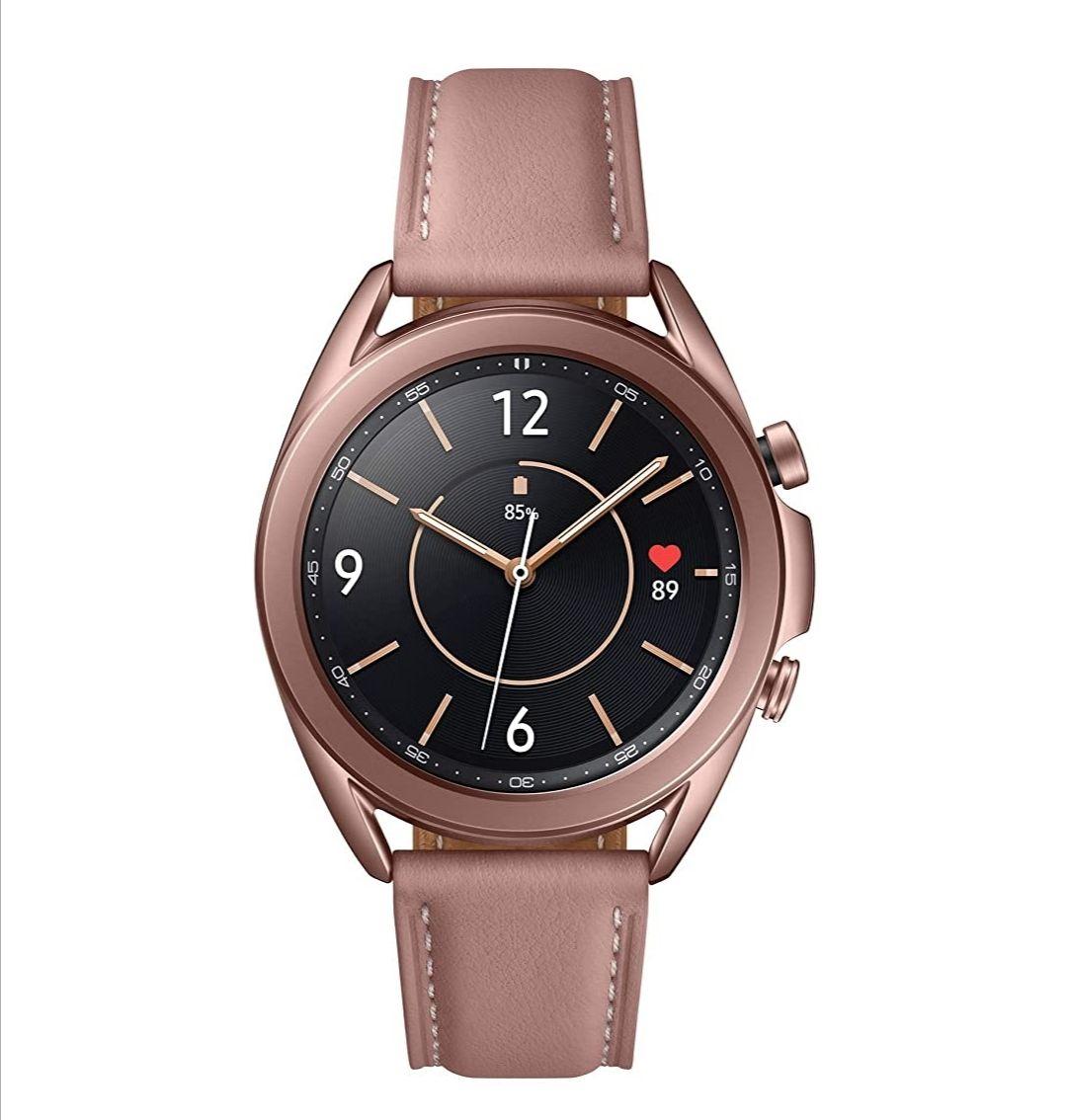 New Samsung Galaxy Watch3 Stainless Steel 41 mm Bluetooth Smart Watch Mystic Bronze (UK Version) - £223.80 @ Amazon