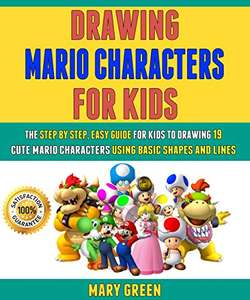 Drawing Mario Characters For Kids Kindle Edition FREE at Amazon