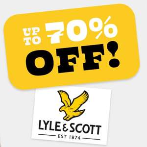 Lyle & Scott up to 70% off sale - from £5.99 + £4.99 Delivery @ Sports Direct
