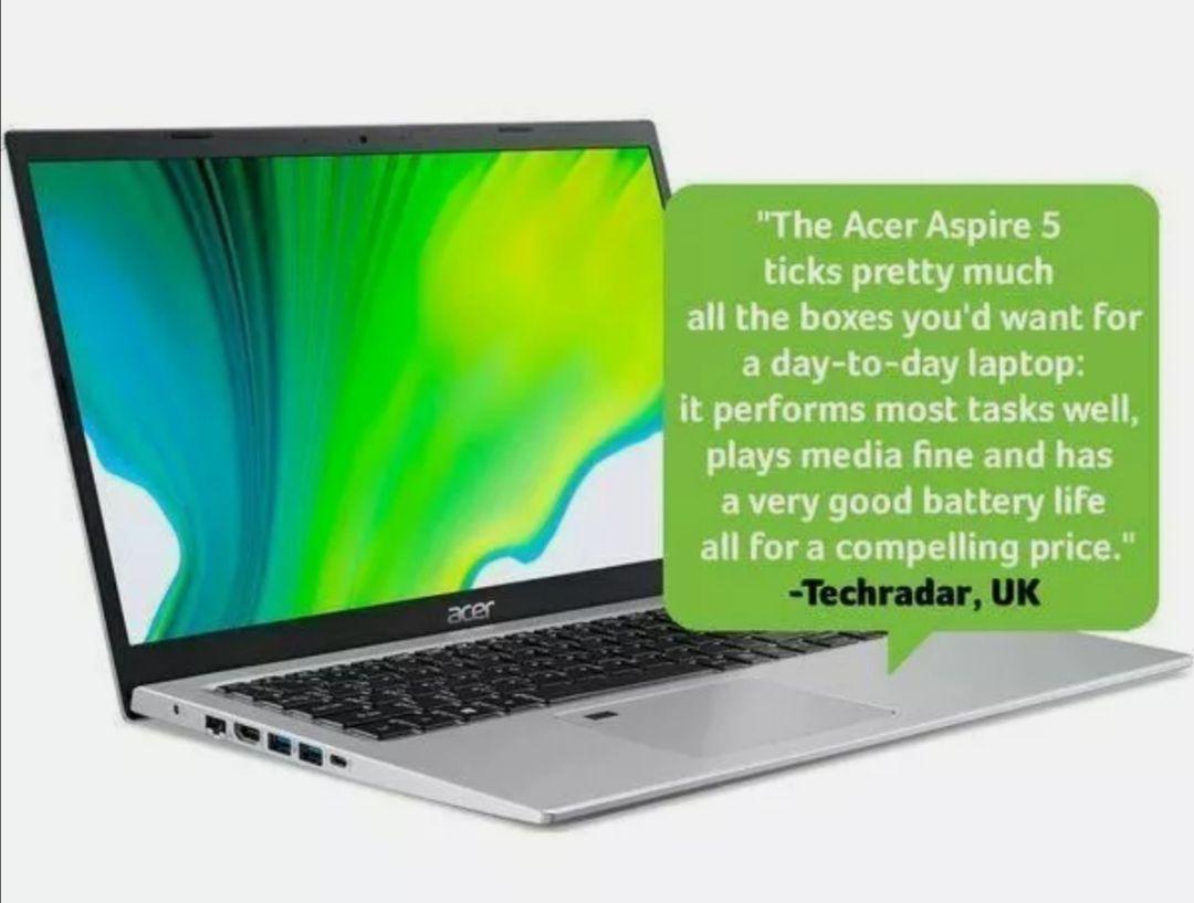 """Refurb ACER Aspire 5 A515-56G 15.6"""" Laptop - Intel® i5-1135G7, 512 GB SSD, NVIDIA GeForce MX350 - 2 GB GDDR5 £499.20 @ Currys Clearance eBay"""