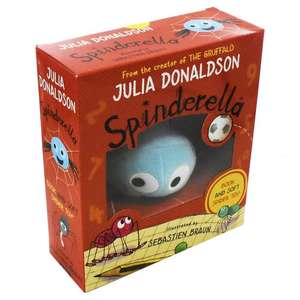 Spinderella Book and Plush Toy Set £3.99 Delivered at Books2door