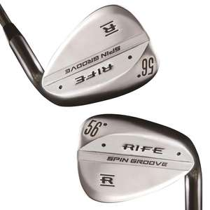 2x Rife Spin Groove Wedge Golf Clubs for £100 + Free Delivery @ americangolf