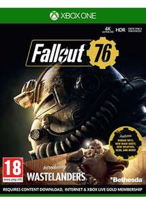 Fallout 76 Wastelanders [Xbox One] £4.85 delivered @ Base