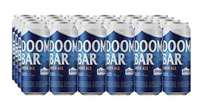 Sharp's Brewery Doom Bar Amber Ale 24 x 500 ml Cans £28.74 at Amazon