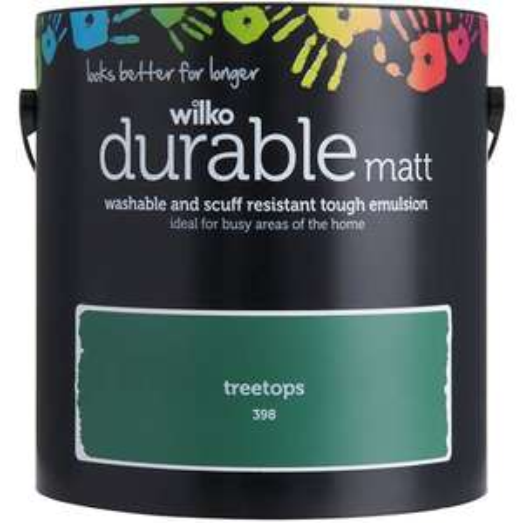 2 for £25 on Wilko Durable Paint (+£5 delivery) @ Wilko