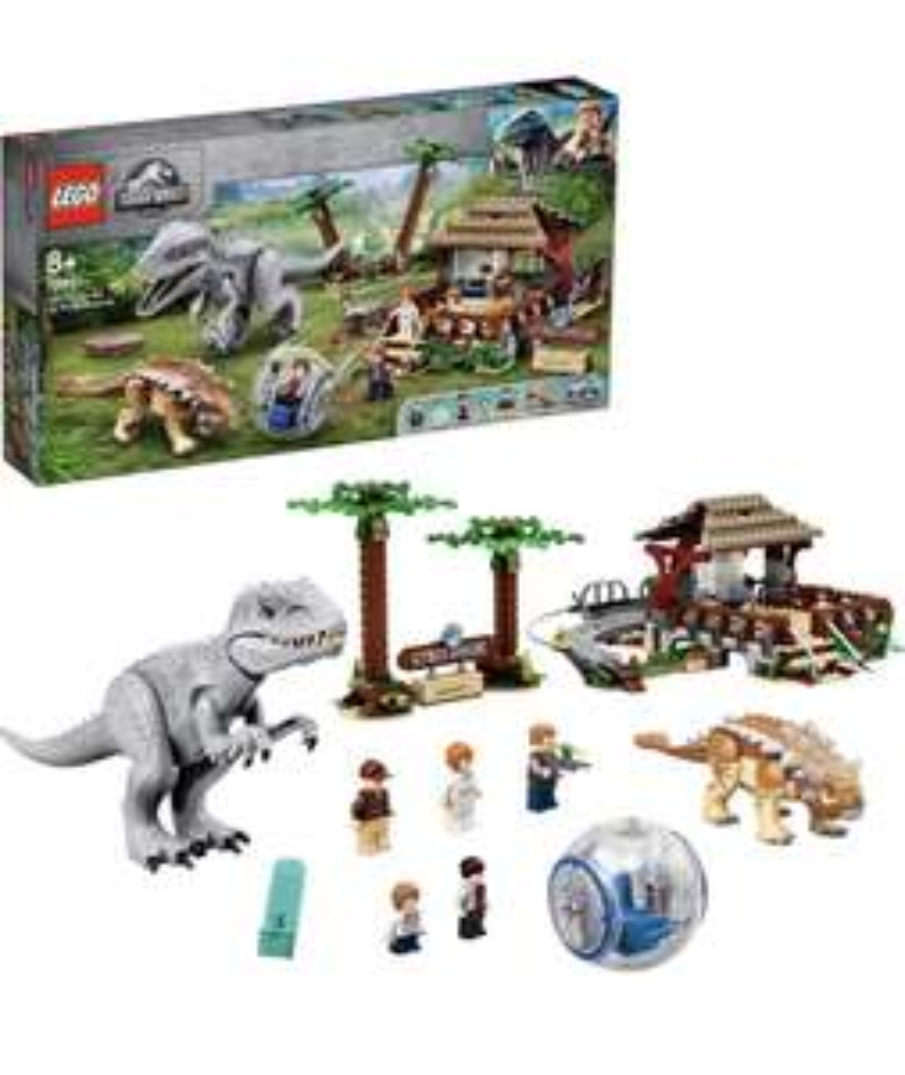 Lego Jurassic World 75941 Indominus Rex vs Anklyosaurus £67.61 at Amazon