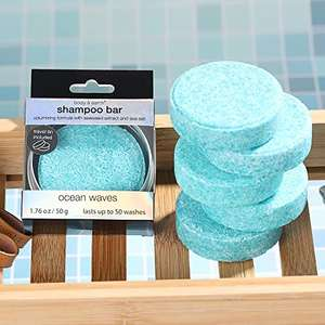 BODY & EARTH Solid Shampoo Bar - £4.99 (+£4.99 Non Prime) @ Sold by GREEN CANYON SPA UK and Fulfilled by Amazon.