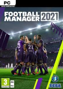 Football Manager 2021 PC / Steam Key £21.53 using code @ Eneba / Obsidian Codes