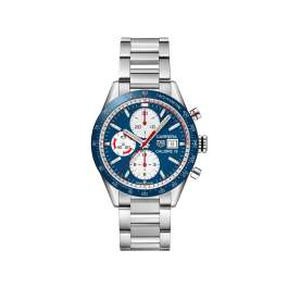 Tag Heuer Carrera 16 Chronograph watch £2,895 at Browns Family Jewellers